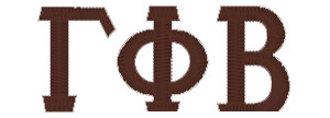GammaPhiBeta-Letters - Custom Online Embroidery DesignGamma Phi Beta Wooden Letters