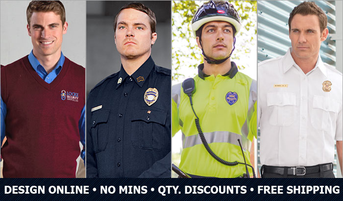 Custom Security & Public Safety Uniforms