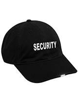 Custom Security and Law Enforcement Caps
