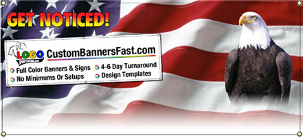 Custom Banner Designs and Custom Sign Design Templates