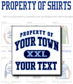Property Of Shirt Shop