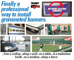 Banner and Sign Trak Kit