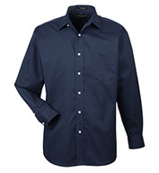 Custom UltraClub Mens Stain Resistant Whisper Elite Twill Shirt