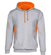Heavyweight Colorblock Hooded Sweatshirt