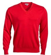 Mens Pullover V-Neck Sweater