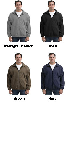 Mens Fleece Full Zip Jacket - All Colors