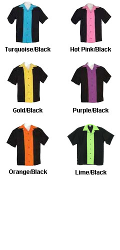 Adult Classic 57 Style Bowling Shirt - All Colors