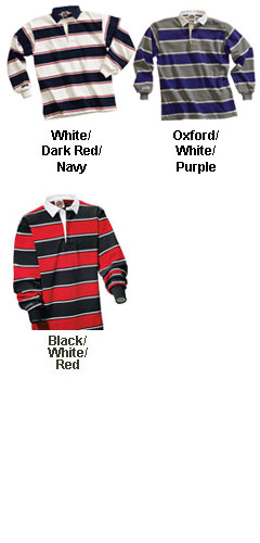 Soho Stripes Rugby Jersey - All Colors
