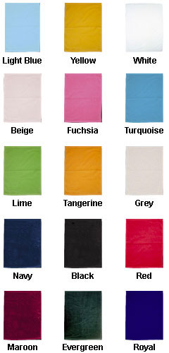 Heavyweight Golf Towel  with Corner Grommet and Hook - All Colors
