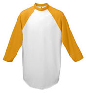 Adult 3/4 Sleeved 50/50 Raglan Sleeve Shirt