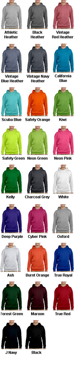 Jerzees Youth Hooded Pullover - All Colors
