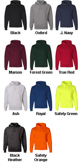 Jerzees Heavyweight Hooded Sweatshirt - All Colors
