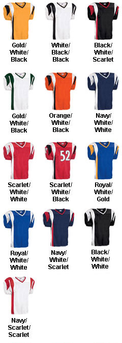 Adult Twister Steelmesh Football Jersey - All Colors
