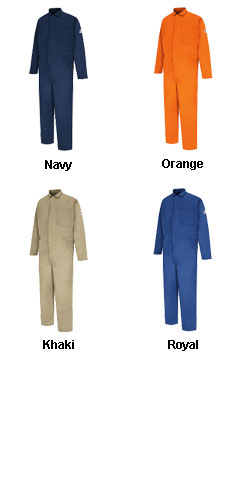 Bulwark� CAT2 Flame Resistant Classic Coveralls - All Colors