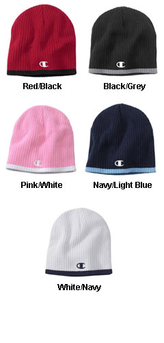 Knit Beanie Cap by Champion - All Colors