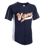 Adult Diamond-Core Full Button Baseball Jersey