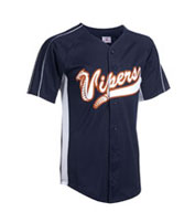Youth Diamond-Core Full Button Baseball Jersey