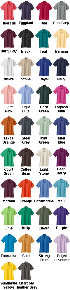 Ladies Silk Touch Sport Shirt - All Colors