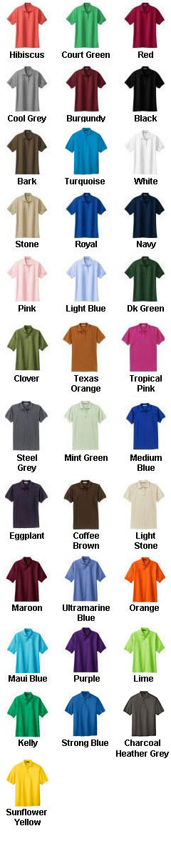Silk Touch Polo shirt 7XL - 10XL  - All Colors
