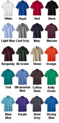 Silk Touch Polo Shirt Tall Sizes - All Colors