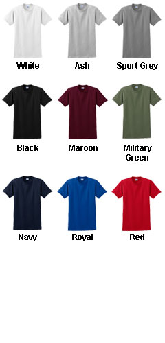 Gildan 100% Cotton Adult T-shirt - All Colors