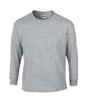 Youth 100% Heavyweight Ultra Cotton Long Sleeve Tshirt