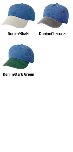 Unconstructed Washed Denim Cap - All Colors