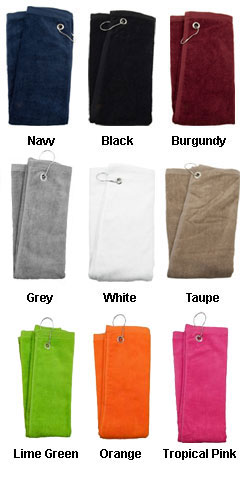 Corner Grommet Sport Towel - All Colors