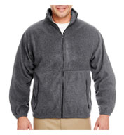 Ultraclub Iceberg Fleece Full-zip Jacket Mens