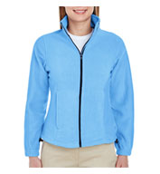 Custom UltraClub Ladies Iceberg Fleece Full-Zip Jacket