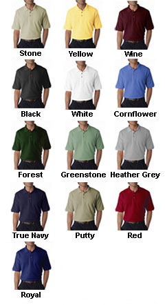100% Cotton Pique Sportshirt - All Colors