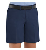 Custom Plain Front Ladies Shorts