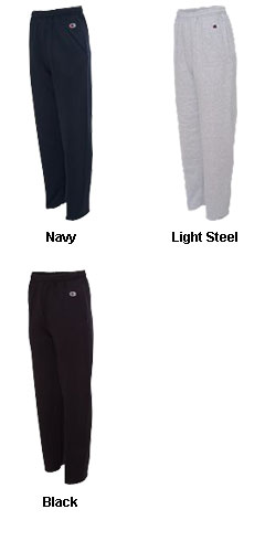 Champion 50/50 Heavyweight Fleece Open Bottom Pant - All Colors