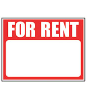 Real Estate For Rent Sign