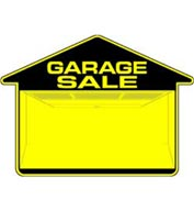 Double-Sided Garage Sale Sign