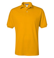 Custom Jerzees Mens 50/50 Jersey Knit Polo with SpotShield�