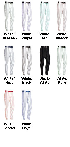 Youth Pro-Weight 14 oz. Pinstripe Baseball / Softball Pants - All Colors