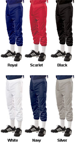Youth Solid Color Softball Pants - All Colors