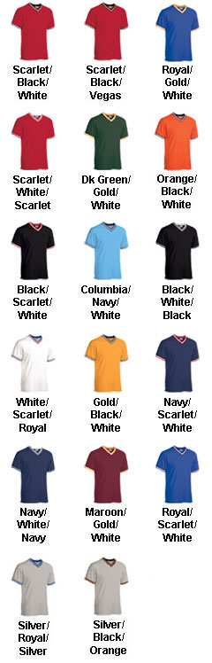 Youth V-Neck Custom Baseball Shirt - All Colors