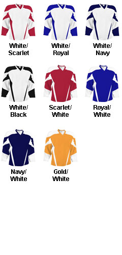 Youth Air Mesh Deluxe Hockey Uniform Jersey - All Colors