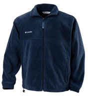 Mens Columbia Fleece Full Zip Jacket