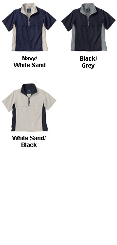 The Ace Short Sleeve Windshirt by Charles River Apparel - All Colors