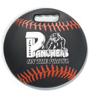 Baseball Round Ball Stadium Seat Cushions For Bleachers