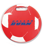 Custom Soccer Round Ball Stadium Seat Cushions For Bleachers