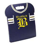 Custom Football Jersey Stadium Seat Cushions For Bleachers
