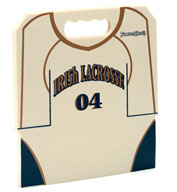 Lacrosse Jersey Stadium Seat Cushions For Bleachers