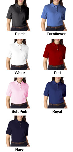 Luxurious Egyptian Cotton  Shortsleeve Ladies Shirt - All Colors
