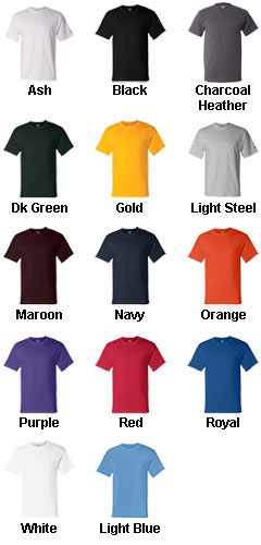 Champion� 6.1 oz. Cotton Tagless T-Shirt - All Colors