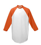 Youth 3/4 Sleeved 50/50 Raglan Sleeve Shirt