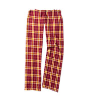Custom Youth Drawstring Flannel Pants